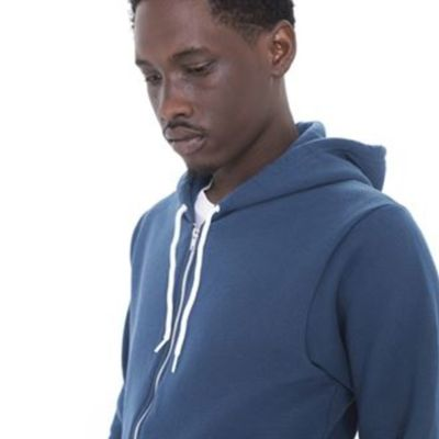 Two tone flex fleece zip hoodie  Thumbnail