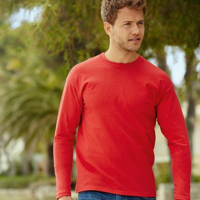 Fruit of the Loom Valueweight long sleeve tee F240 Thumbnail