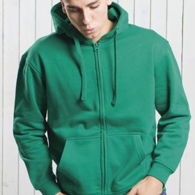 JHK Zipped Hooded Sweatshirt Thumbnail