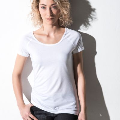Nakedshirt Emily Viscose/Cotton Raglan T Thumbnail