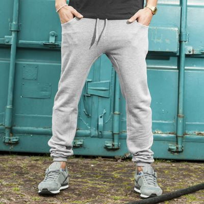 Heavy deep crotch sweatpants Thumbnail