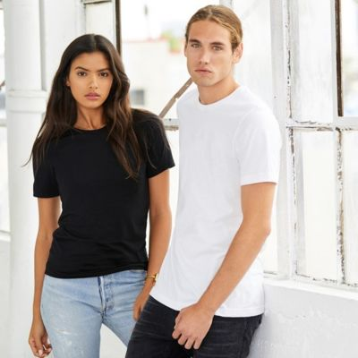soft & fitted sleeve combed cotton unisex T-Shirt  Thumbnail
