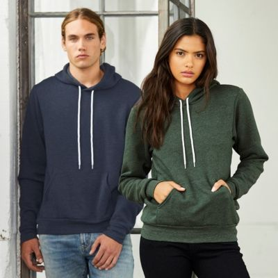 Poly-Cotton Fleece Pullover Hoodie Thumbnail