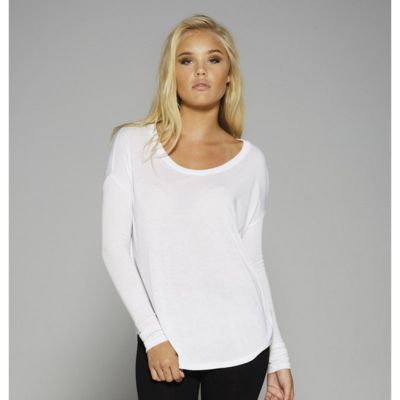 Bella+Canvas Flowy long sleeve t-shirt with 2x1 sleeves BL8852 Thumbnail