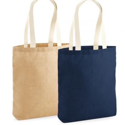 Unlaminated Jute Shopper Thumbnail
